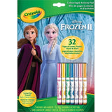 Crayola Bloc de pages a colorier Disney Frozen II