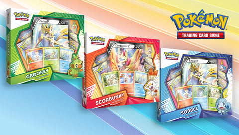 Pokémon TCG Galar Collection Master Case Scorbunny, Sobble ou Grookey AVEC ÉPINGLETTE