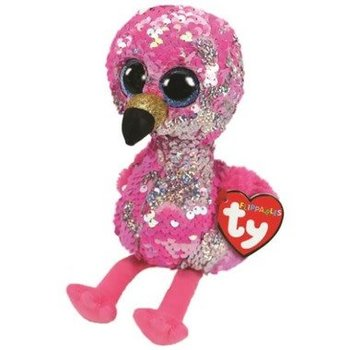 TY flamant rose Pinky flippable 36437
