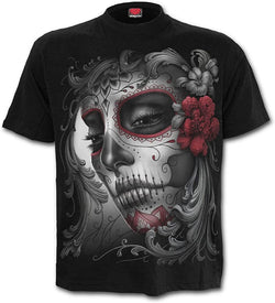 Skull and roses t.shirt