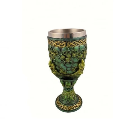 Emerald Grip of Death Goblet