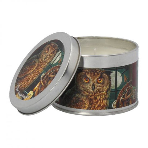 The Astrologer Tin Candle - Sandalwood