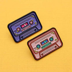 Punky Pin - Cassette tape (Choice of colour)