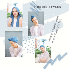 Load image into Gallery viewer, Hoodie/Turban- Heather Grey