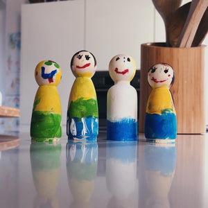 Peg Doll Familie