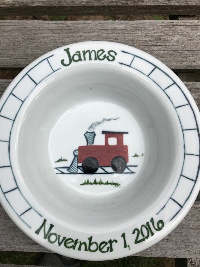 Personalized Children's Bowls, Plates, Cups