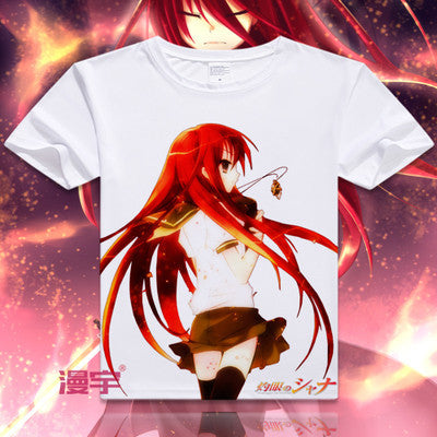 Shakugan No Shana Short Sleeve Anime T-Shirt V13