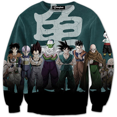 Dragon Ball Z Anime Sweatshirt V3