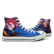 Dragon Ball Z Trunks & Tapion Hand Painted Sneaker Shoes