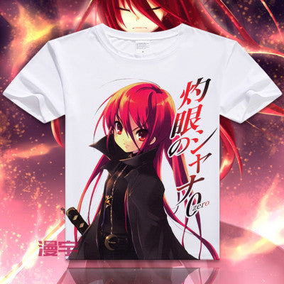 Shakugan No Shana Short Sleeve Anime T-Shirt V1