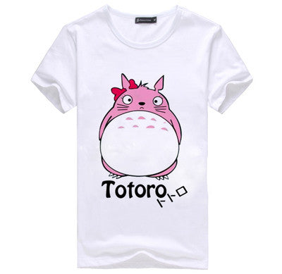 Totoro Cute Kawaii Short Sleeve T-Shirt V8