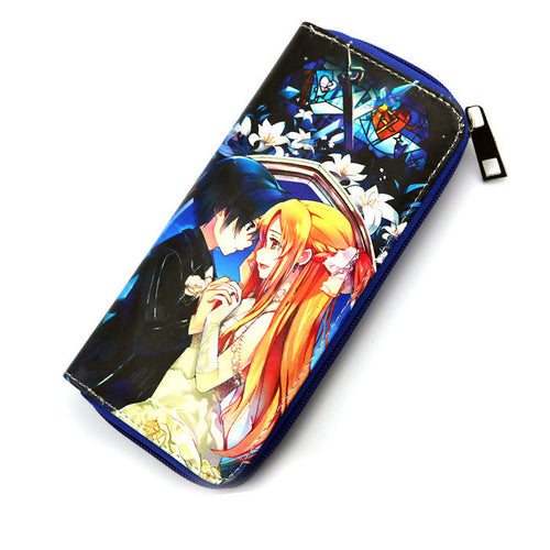 Sword Art Online Anime Long Style Wallet Purse