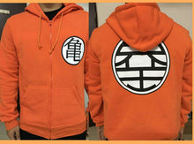 Dragon Ball Z Kame Symbol Hoodie Orange