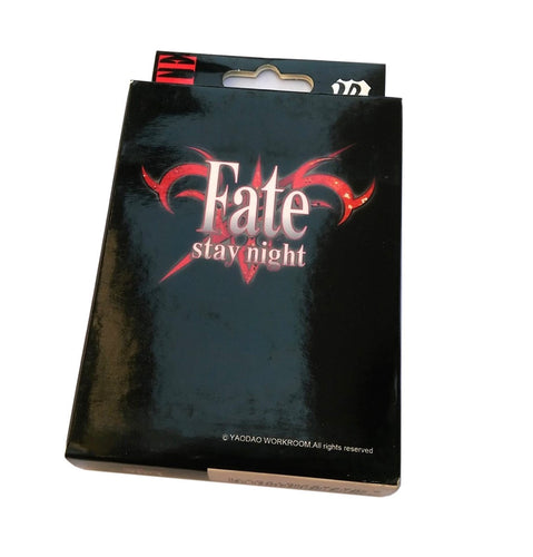 Fate Stay Night Playing Cards