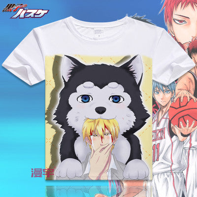 Kuroko No Basket Short Sleeve Anime T-Shirt V10