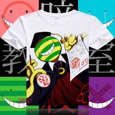 Assassination Classroom Short Sleeve Anime T-Shirt V11