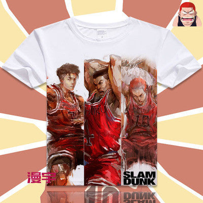 Slam Dunk Short Sleeve Anime T-Shirt V15