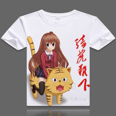 Toradora Short Sleeve Anime T-Shirt V21