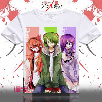 Akame Ga Kill Short Sleeve Anime T-Shirt V9