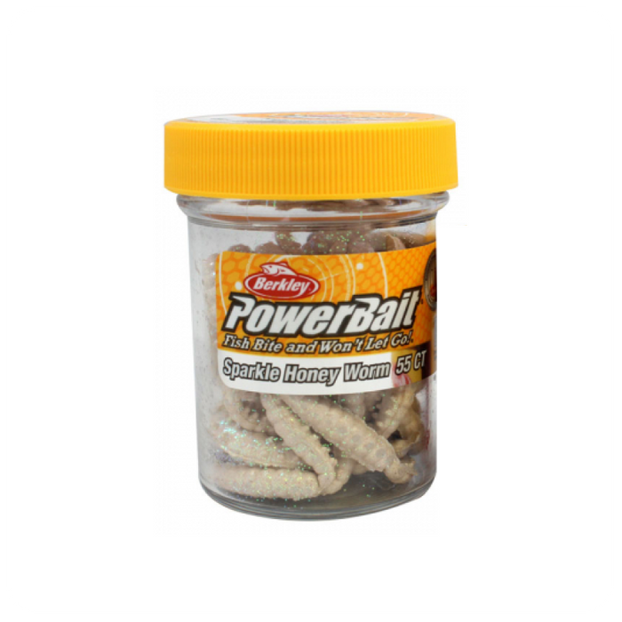 Power Bait Sparkle Honey Worm by Berkley