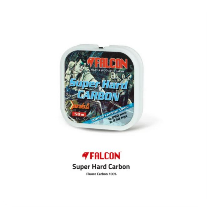 Fluorocarbon Super Hard Carbon 50m by Falcon