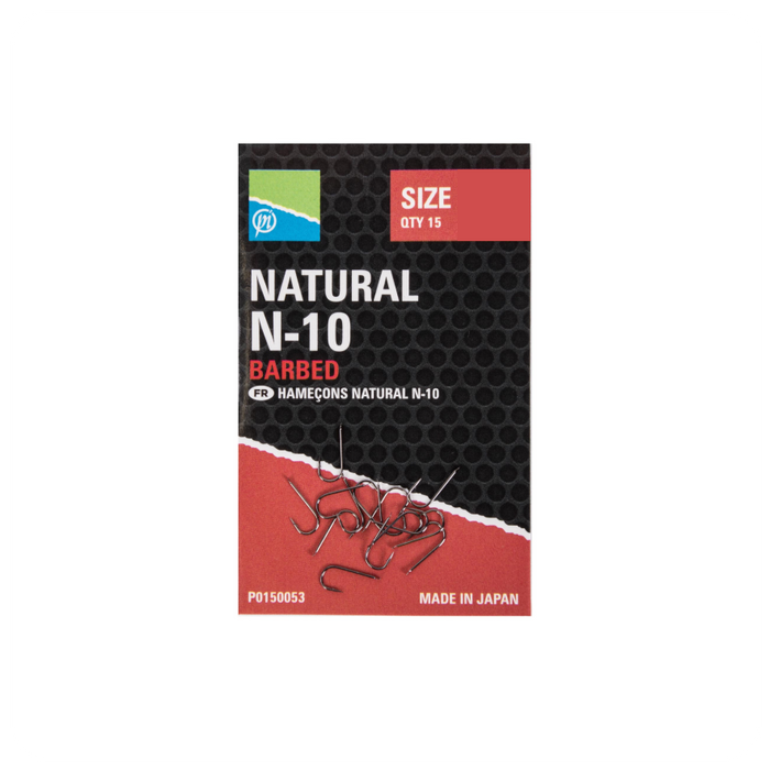 Natural N-10 Barbed by Preston innovation
