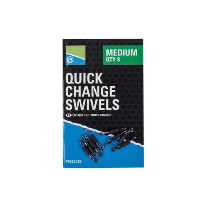 Quick Change Swivels by Preston Innovation