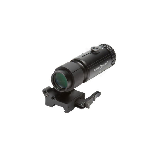 T-5 Magnifier with LQD Flip to Side Mount by Sightmark