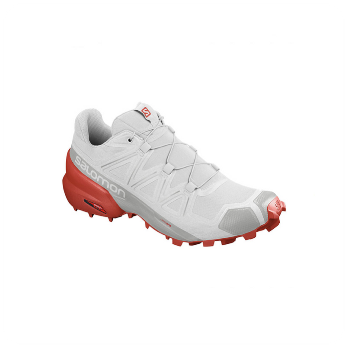 Speedcross 5 White/Cherry Tomato-Uomo by Salomon