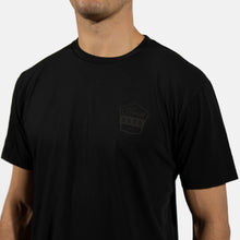 House Black on Black Badge Tee