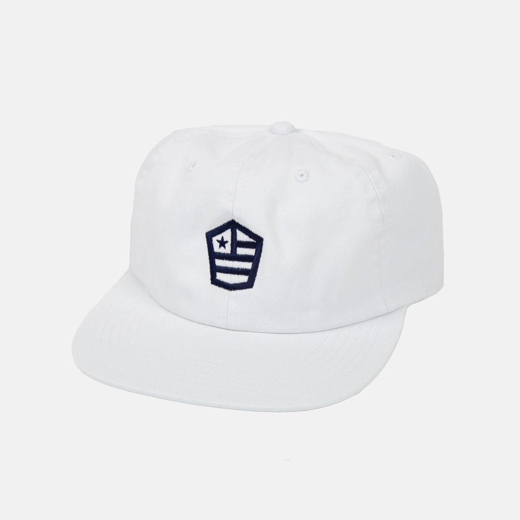Unstructured snapback with House Flag logo