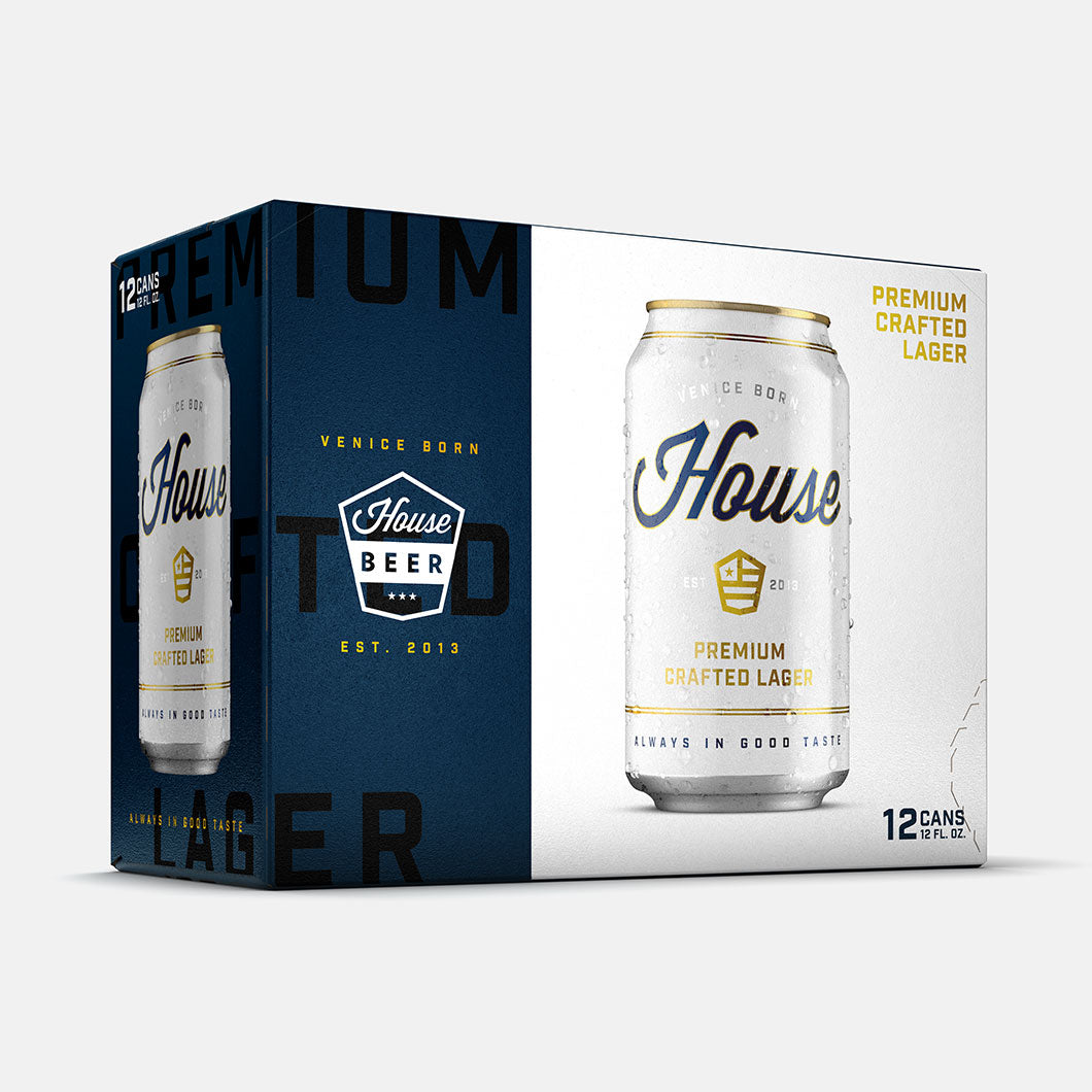 12pk - 12oz Premium Crafted Lager