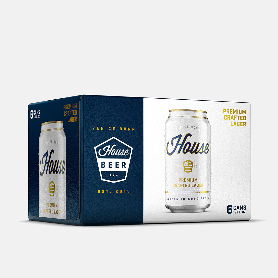 6pk - 12oz Premium Crafted Lager