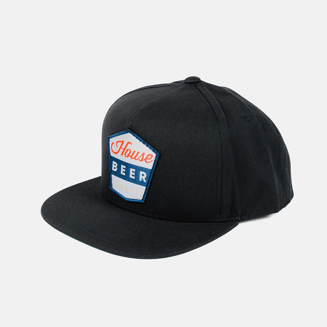 House Beer - Badge Snapback Hat