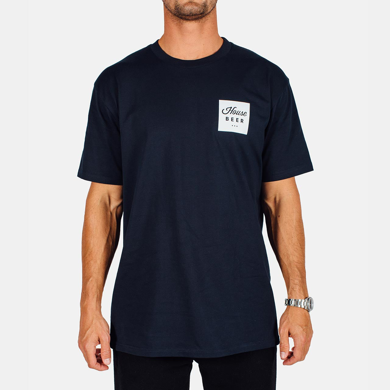 House Beer - Block Logo Tee