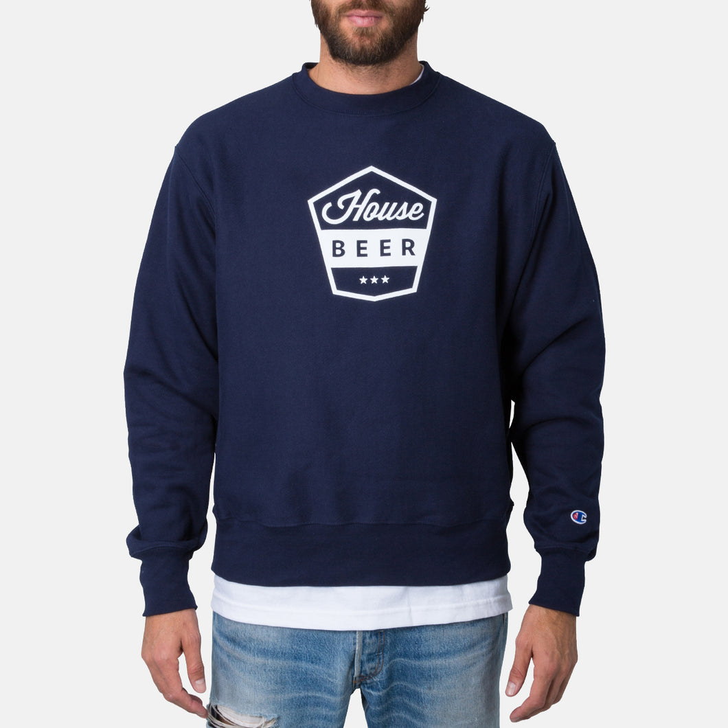 House Beer Shield Crewneck Sweatshirt