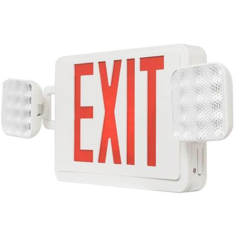Emergency / Exit Combo Lights