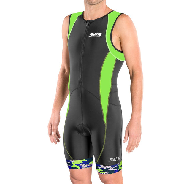 lime tri suit mens