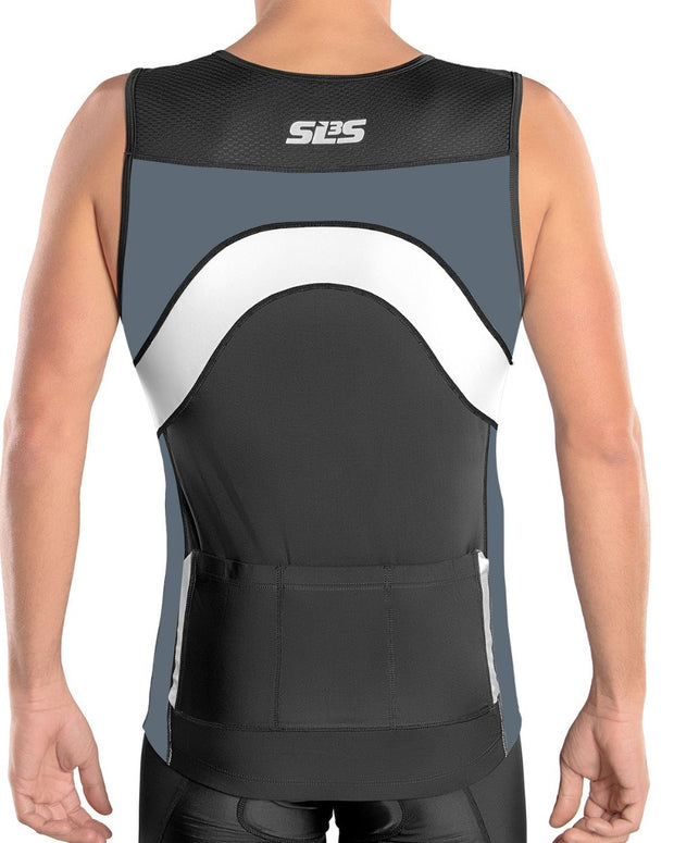 triathlon jersey grey