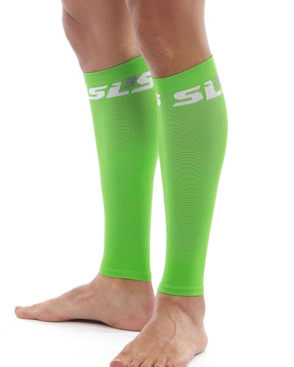 compression sleeves for calves green