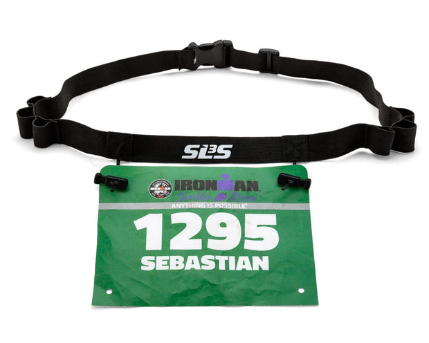 Race Number Gel tri belt