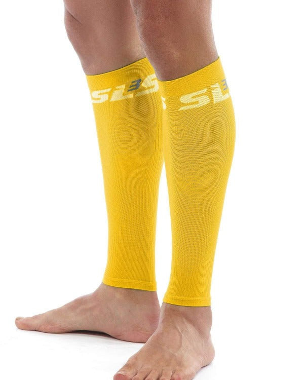 compression sleeve leg yellow