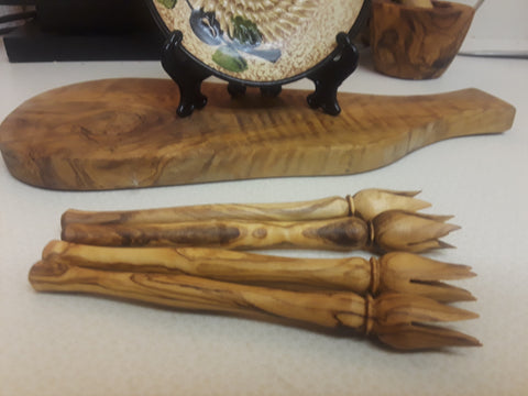 Olive Wood Picks