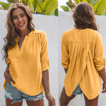 Load image into Gallery viewer, V-Neck Summer Blouse