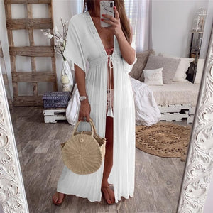 Full Length Beach Cover Up