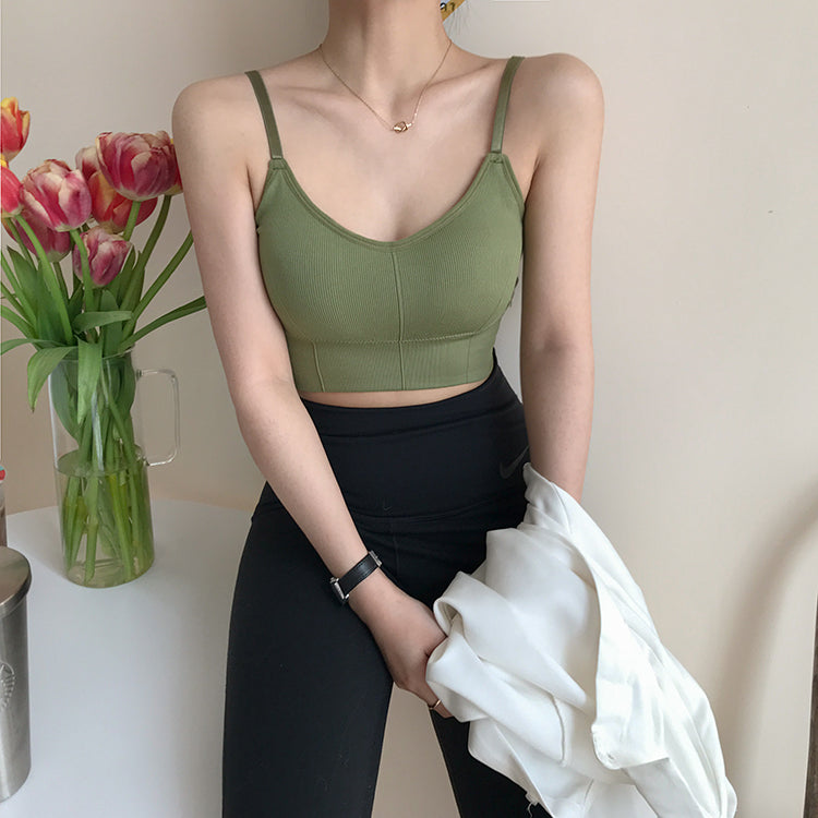 Adjustable Cropped Cami