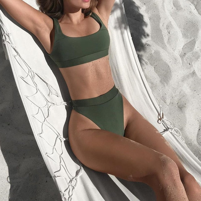 High Waist Sporty Bikini