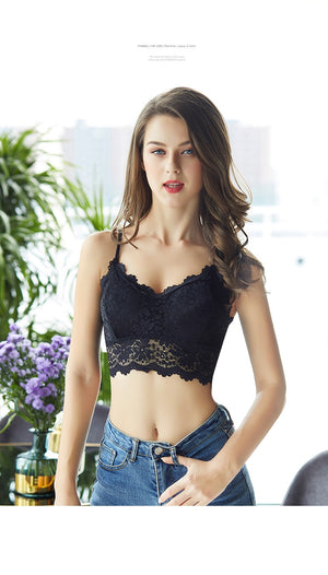 Floral Lace Bralette Top