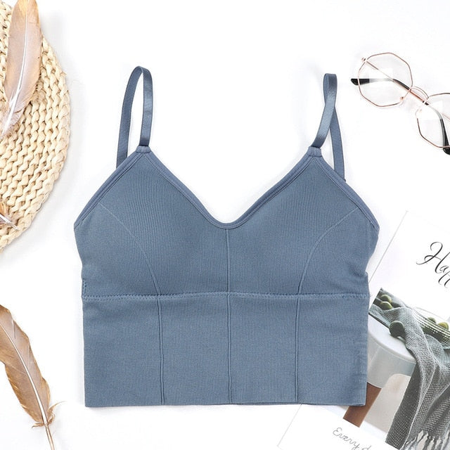 Seamless Low Back Bralette
