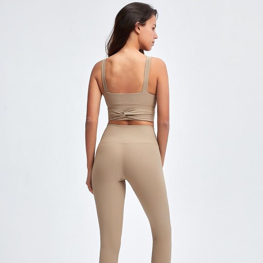 Ribbed High Waist Yoga Set